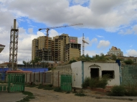 Волгоград, улица Новороссийская, дом 8. строящееся здание