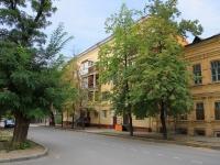 Волгоград, улица Пушкина, дом 9. многоквартирный дом