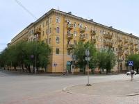 Волгоград, улица Коммунистическая, дом 10. многоквартирный дом