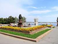 Волгоград, улица Набережная 62 Армии. фонтан «Искусство»