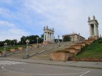 Волгоград, улица Набережная 62 Армии. малая архитектурная форма Лестница