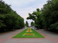 Volgograd, square Pavshikh Bortsov. square