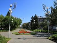 Volgograd, square Pavshikh Bortsov. public garden