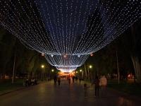 Волгоград, улица Аллея Героев. сквер Аллея Героев