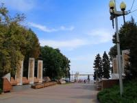 Волгоград, улица Аллея Героев. памятник Героям Советского Союза и полным кавалерам Ордена Славы