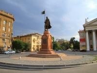 Волгоград, улица Мира. памятник Александру Невскому