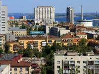 Волгоград, улица Гагарина, дом 7. многоквартирный дом