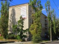 Волгоград, улица Порт-Саида, дом 17. многоквартирный дом