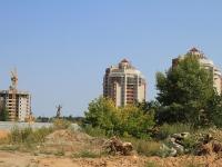 Волгоград, улица Космонавтов, дом 3. строящееся здание
