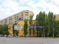 Волгоград, улица Маршала Рокоссовского, дом 2. многоквартирный дом
