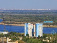 Волгоград, улица Батальонная, дом 11. многоквартирный дом