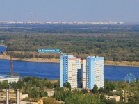 Volgograd, st Batalyonnaya, house 11/1. Apartment house