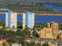 Volgograd, st Batalyonnaya, house 13. Apartment house