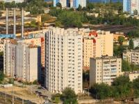 Волгоград, улица Глазкова, дом 27. многоквартирный дом