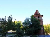 Volgograd, St Bukhantsev. vacant building
