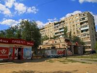 Волгоград, улица Ростовская, дом 9. многоквартирный дом