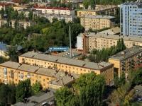 Волгоград, улица Циолковского, дом 2. многоквартирный дом