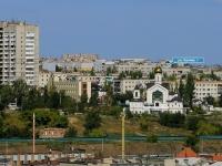 Волгоград, улица Ткачёва, дом 1. храм Во Имя Преподобного Сергия Радонежского