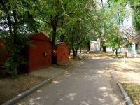 Volgograd, st Pirogov. garage (parking)