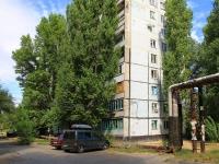 Волгоград, улица Савкина, дом 10. многоквартирный дом