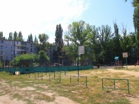 Волгоград, улица Савкина. спортивная площадка