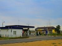 Волгоград, улица Танкистов, дом 11. автозаправочная станция