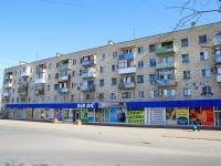 Volgograd, Ave Geroev Stalingrada, house 1. Apartment house