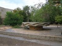 Volgograd, Ave Geroev Stalingrada. fountain