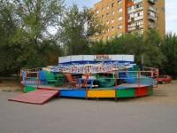 Volgograd, Ave Geroev Stalingrada. children's playground