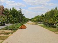 Volgograd, avenue Stoletov. public garden
