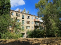 Волгоград, улица Мачтозаводская, дом 124. многоквартирный дом