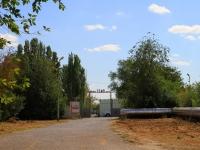 Volgograd, St Machtozavodskaya. sport stadium