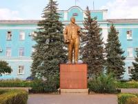 Волгоград, улица Бахтурова. памятник В.И. Ленину