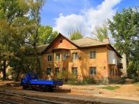 Волгоград, улица Саушинская, дом 2. многоквартирный дом