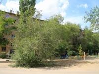 Волгоград, улица Саушинская, дом 27. многоквартирный дом