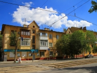 Волгоград, улица Баррикадная, дом 18. многоквартирный дом