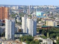 Волгоград, улица Грушевская, дом 12. многоквартирный дом