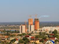 Волгоград, улица Туркменская, дом 6. строящееся здание