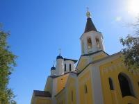 Волгоград, улица Туркменская, дом 15 к.1. храм Николая Чудотворца