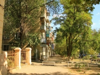 Волгоград, улица Ковровская, дом 10. многоквартирный дом