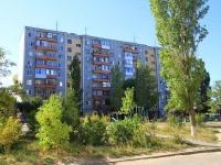 Волгоград, улица Казахская, дом 10. многоквартирный дом