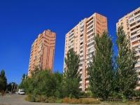 Волгоград, улица Набережная Волжской Флотилии, дом 15. многоквартирный дом