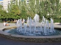 Волгоград, Фридриха Энгельса бульвар. фонтан На бульваре Энгельса, 17