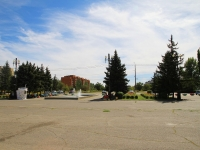 Волгоград, улица Остравская. фонтан