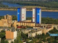 Волгоград, улица Дымченко, дом 8. многоквартирный дом