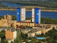 Волгоград, улица Дымченко, дом 10. многоквартирный дом
