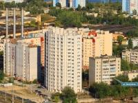 Волгоград, улица Дымченко, дом 18А. многоквартирный дом