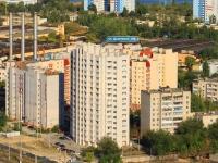 Волгоград, улица Дымченко, дом 18Б. многоквартирный дом