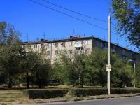 Волгоград, Демократический переулок, дом 2. многоквартирный дом