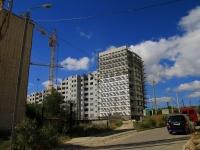 Волгоград, улица Варшавская, дом 4. строящееся здание